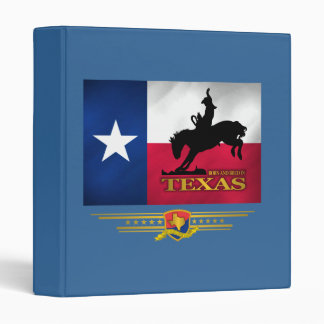 Texas Born Bred 3 Ring Binders