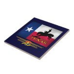 Texas Born & Bred Ceramic Tile
