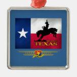 Texas Born & Bred Metal Ornament