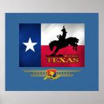 Texas Born & Bred Poster