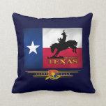 Texas Born & Bred Throw Pillow