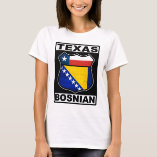 Texas Bosnian American Ladies Tee