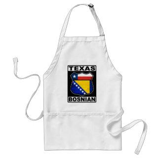 Texas Bosnian American Sign Adult Apron
