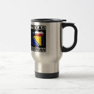 Texas Bosnian American Sign Travel Mug