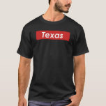 Texas Box Logo T-Shirt