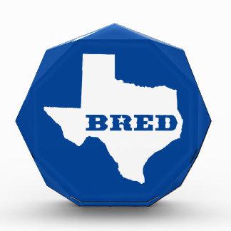 Texas Bred Award