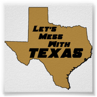 Texas Brown Poster
