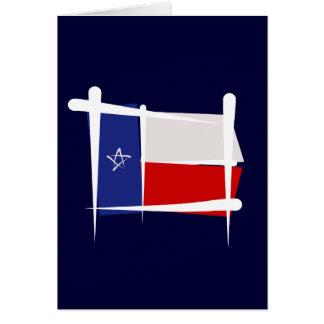 Texas Brush Flag Card