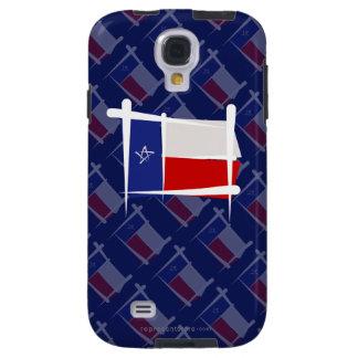 Texas Brush Flag Galaxy S4 Case