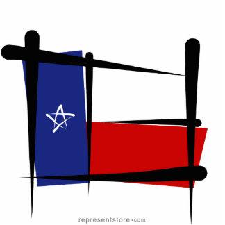 Texas Brush Flag Photo Sculptures