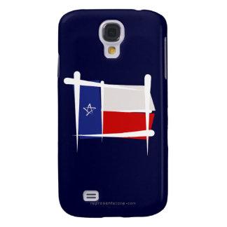 Texas Brush Flag Samsung Galaxy S4 Case