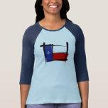 Texas Brush Flag T Shirt