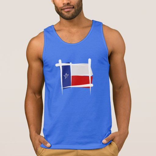 Texas Brush Flag Tanktop Tank Tops, Tanktops Shirts