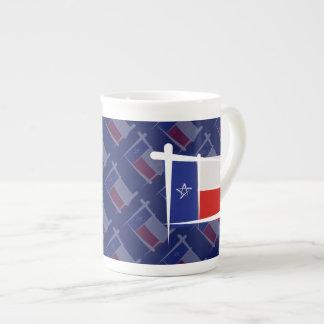 Texas Brush Flag Tea Cup