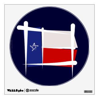 Texas Brush Flag Room Graphic