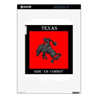 Texas Bucking Horse Cowboy .jpg Skin For iPad 2