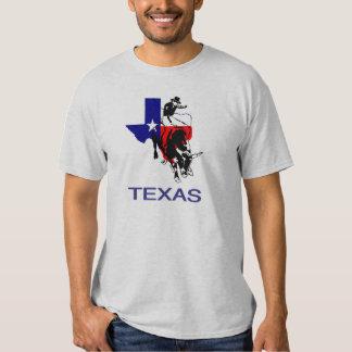 Texas Bull Rider T Shirts