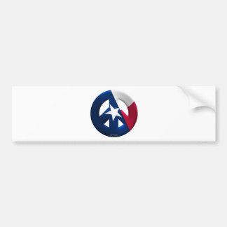 Texas Car Bumper Sticker