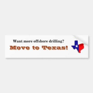Texas Bumper Sticker Car Bumper Sticker