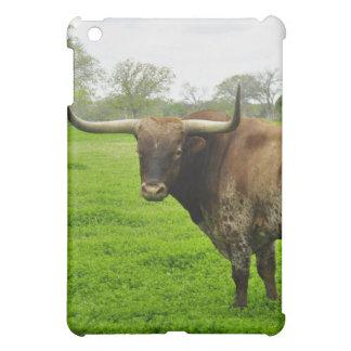 Texas Burnt Orange Longhorn Steer iPad Mini Cover
