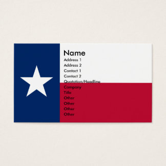 TEXAS Business Cards