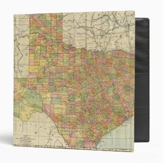 Texas by Rand McNally 3 Ring Binder