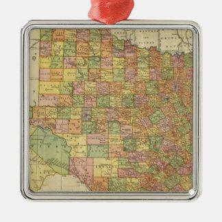 Texas by Rand McNally Metal Ornament