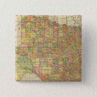 Texas by Rand McNally Pinback Button