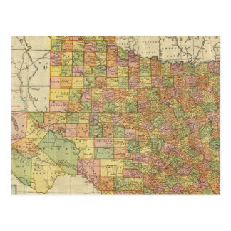 Texas by Rand McNally Postcard