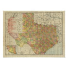Texas by Rand McNally Poster