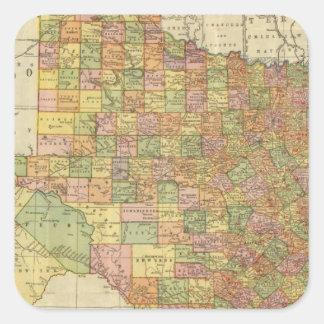 Texas by Rand McNally Square Sticker