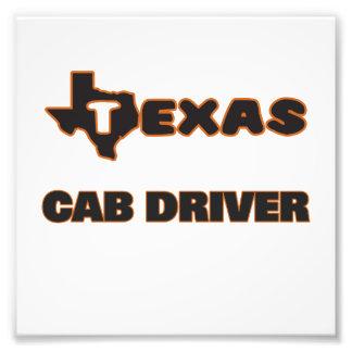 Texas Cab Driver Photo Print