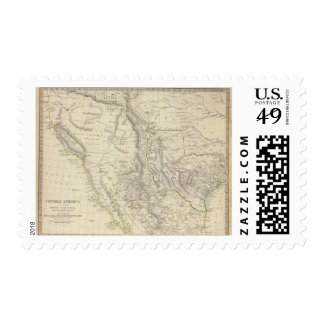 Texas, Calif, N Mexico Postage Stamps