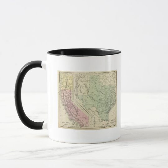 Texas, California Mug
