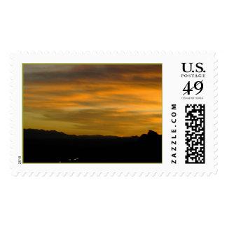 Texas Canyon   Postage Stamp
