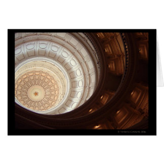Texas Capital Dome 2006 -2 Greeting Cards