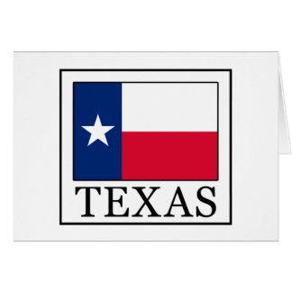 Texas Card