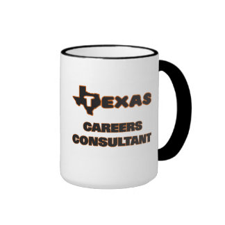 Texas Careers Consultant Ringer Coffee Mug