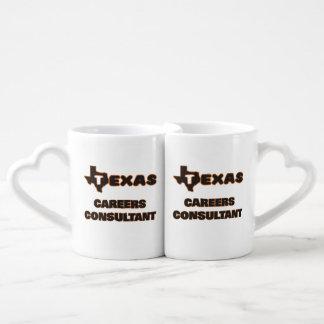 Texas Careers Consultant Couples' Coffee Mug Set