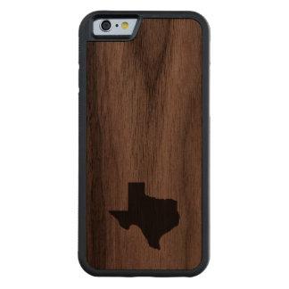 Texas Carved® Walnut iPhone 6 Bumper Case