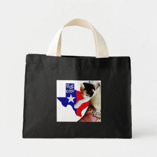 Texas Cat Tote Bags