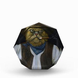 Texas Cat with an Attitude Acrylic Award