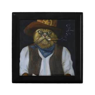 Texas Cat with an Attitude Gift Box