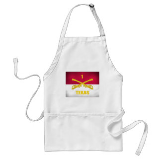 Texas Cavalry Adult Apron