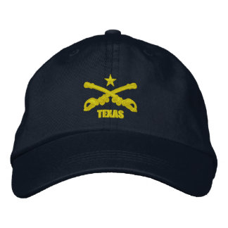 Texas Cavalry (Embroidered) Embroidered Baseball Hat