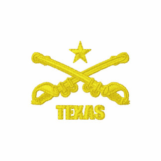 Texas Cavalry (Embroidered) Embroidered Hoodies