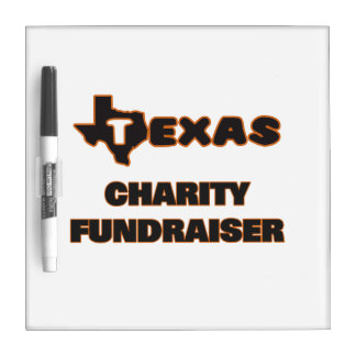 Texas Charity Fundraiser Dry-Erase Whiteboard