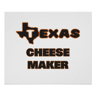 Texas Cheese Maker Poster