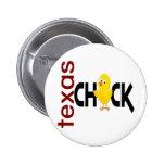 Texas Chick 1 Pinback Button