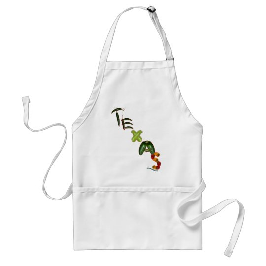 Texas Chili Peppers Adult Apron